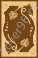 Ковер IMPERIAL Carving 0344 brown 2.5*5.0