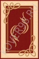 Ковер IMPERIAL Carving 0094 red/cream 1.0*3.0