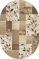 Ковер VALENCIA DELUXE_d306_CREAM-BROWN_2*5_ов