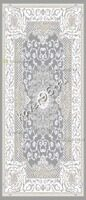 Ковер BAROQUE CARPET 7421 L.GREY/WHITE 0.8*1.5