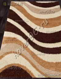 Ковер SHAGGY ULTRA s607 BEIGE-BROWN 3*4