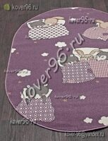 Ковер SOFIT 2922 LIGHT PURPLE 0,8*1,5 o